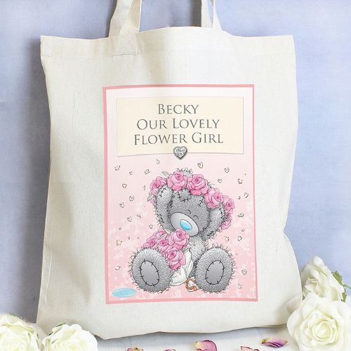 Personalised MeTo You Girls Wedding Cotton Bag